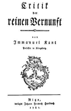 El a priori en Kant. Cuestionario